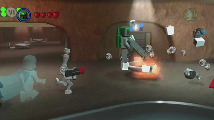 Mochagosling4 playing LEGO Star Wars II: The Original Trilogy